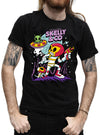 "MEN'S ""SPACE PROBLEMS"" TEE BY SKELLY & CO (BLACK)"