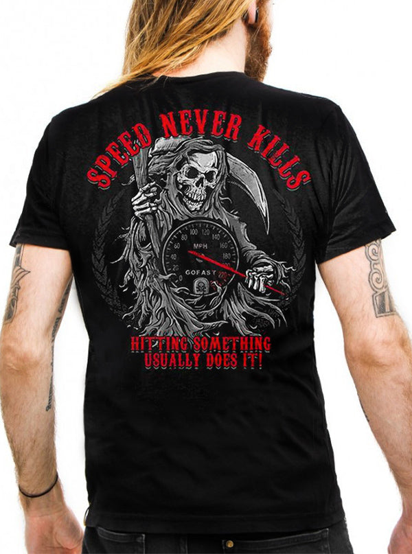 Men's Speed Never Kills Tee by Lethal Threat