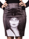 "Women's ""Elvira Glam Witch"" Pencil Skirt by Kreepsville 666 (Black) - www.inkedshop.com"