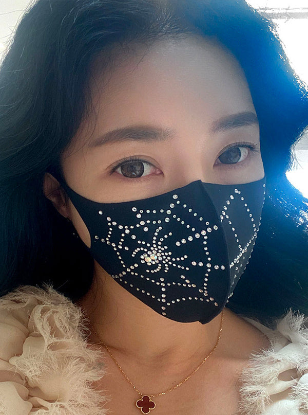 Aerosilver Spiderweb Face Mask