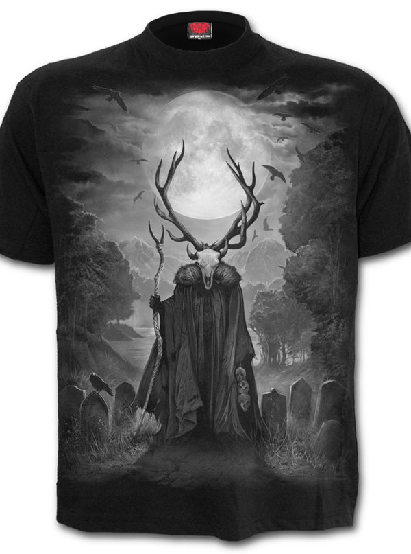 Men's Horned Spirit Tee by Spiral USA