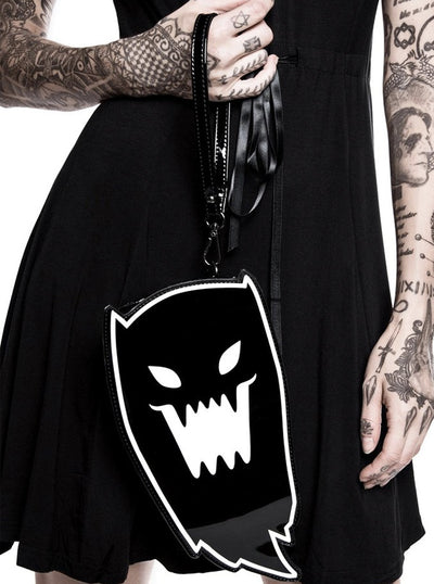 """Spooky"" Clutch by Killstar (Black)"