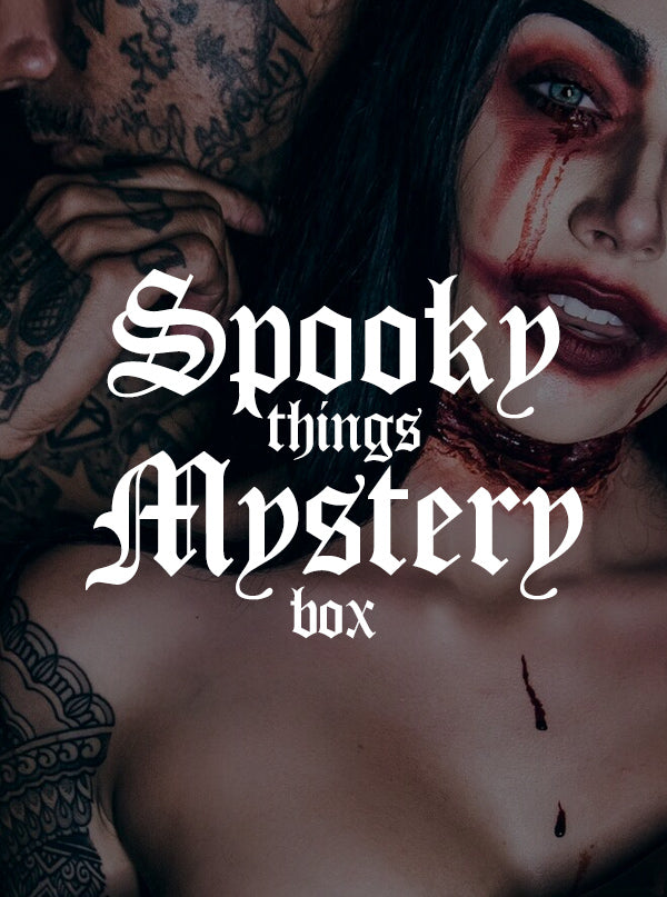 Spooky Things Halloween Mystery Box