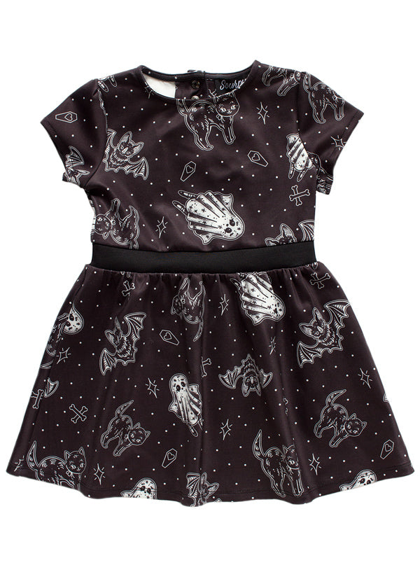 Kid's So Cute It's Spooky Dress by Sourpuss