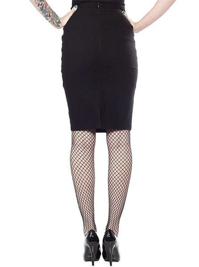 "Women's ""Essential"" Pencil Skirt by Sourpuss (More Options) - www.inkedshop.com"