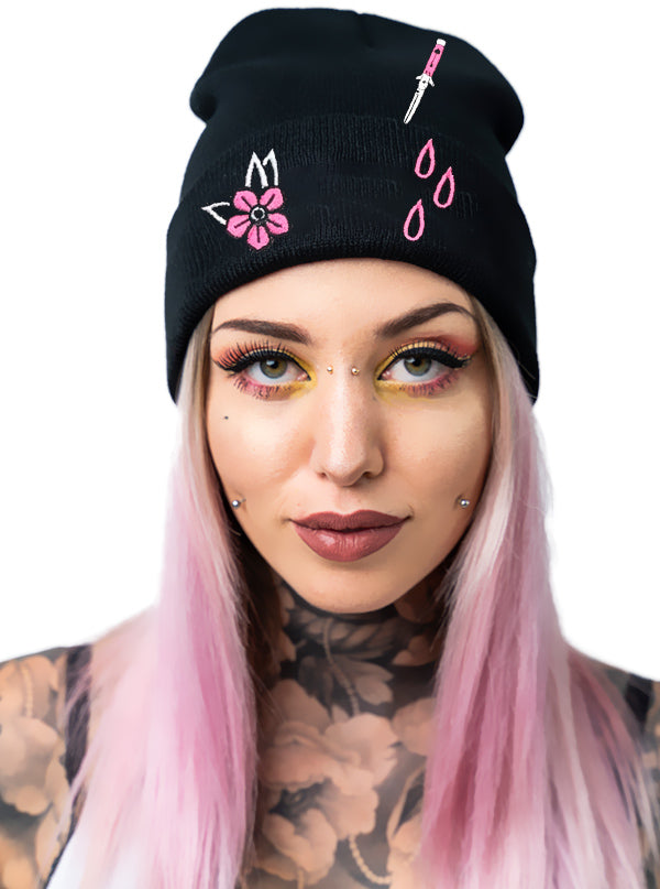 Stabby Knit Hat by Sourpuss