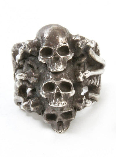 "Men's ""Stacked"" Ring by Aileyan (More Options) - www.inkedshop.com"