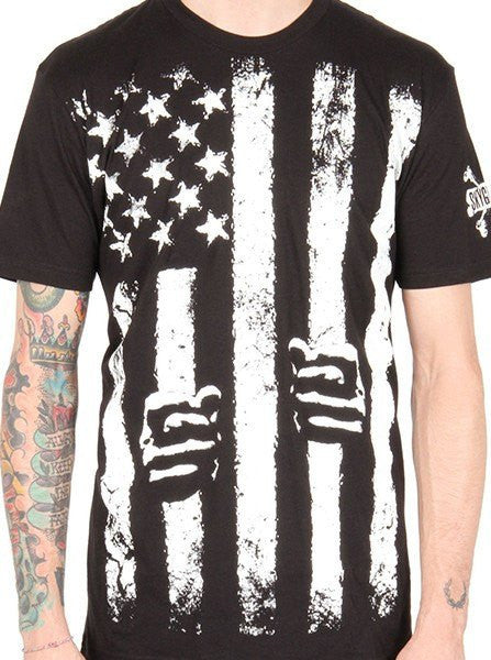 "Men's ""Stars & Restraints"" Tee by Skygraphx (Black) - www.inkedshop.com"