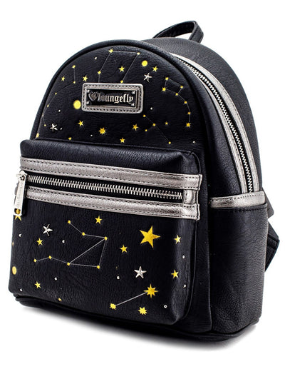 """Celestial"" Mini Backpack by Loungefly (Black)"