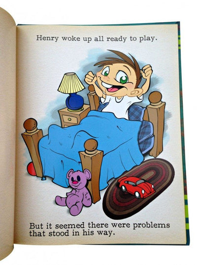 """Start Looking Up! How Henry Learned To Change His Day"" by Out of Step Books - www.inkedshop.com"