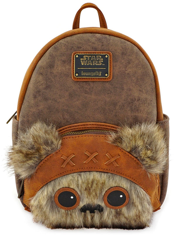 Star Wars: Wicket Fur Mini Backpack by Loungefly