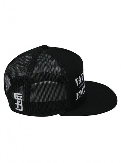 """Tattooed and Employed"" Snapback Hat by Steadfast Brand (Black) - InkedShop - 3"