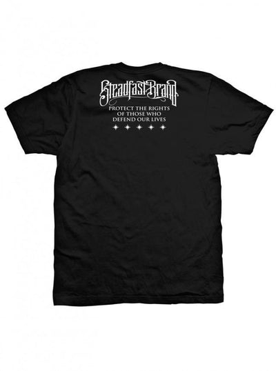 "Men's ""Tattooed and Deployed"" Tee by Steadfast Brand (Black) - www.inkedshop.com"