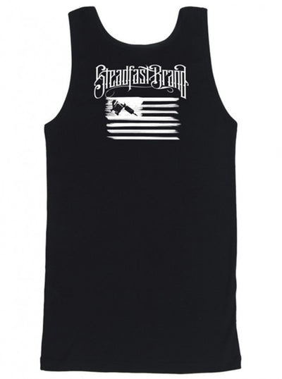 "Men's ""Tattooed Veteran"" Tank by Steadfast Brand (Black) - www.inkedshop.com"