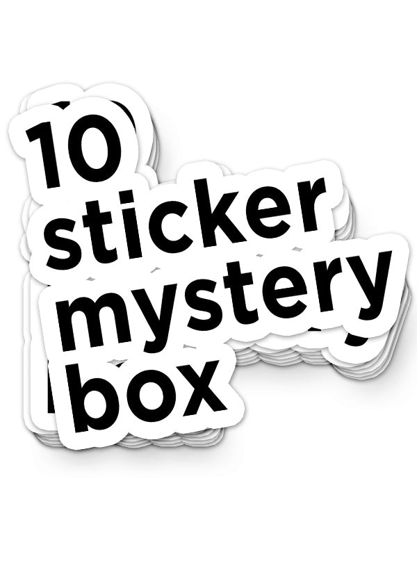 Sticker Mystery Box