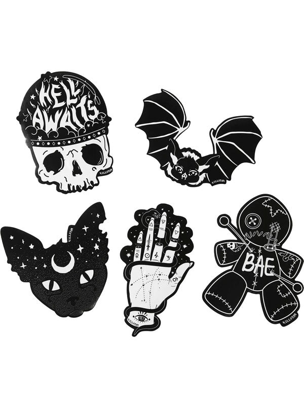 Hell Yeah Sticker Pack by Killstar