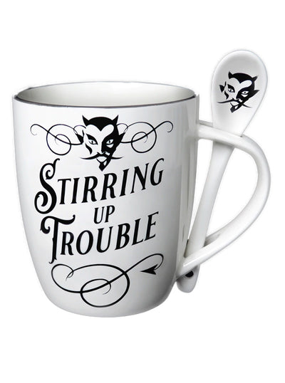 Stirring Up Trouble Mug Set by Alchemy of England