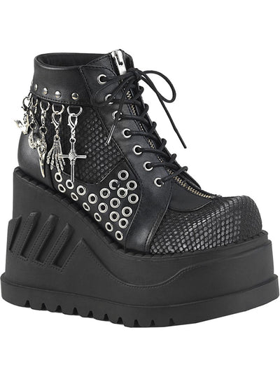 Women's Stomp 18 Vegan Platform Boots by Demonia