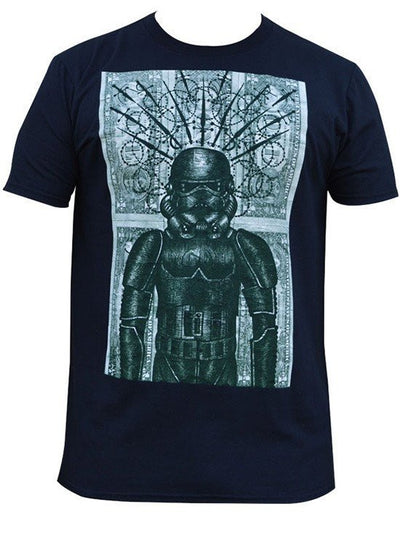 "Men's ""Storm"" Tee by Black Market Art (Black) - www.inkedshop.com"