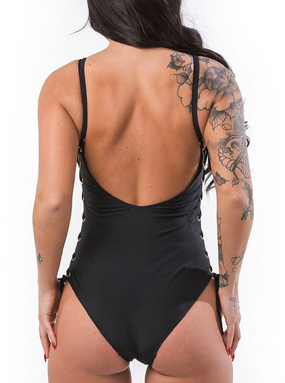 Women's Strap It Up Swimsuit by Headrush Brand