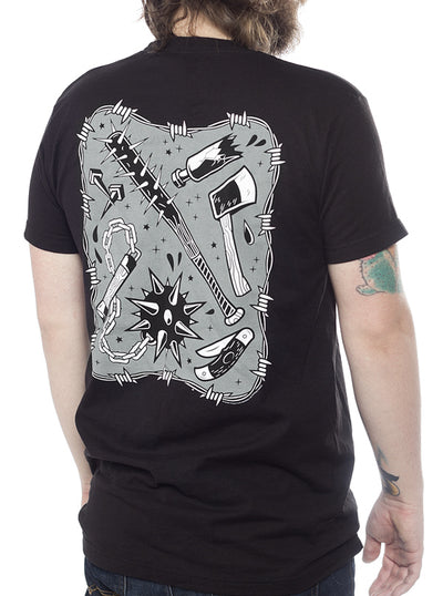 Men's Strike First Tee by Kustom Kreeps