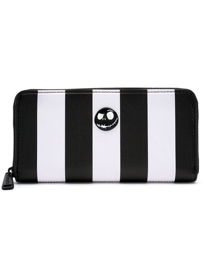 Nightmare Before Christmas Striped Wallet by Loungefly