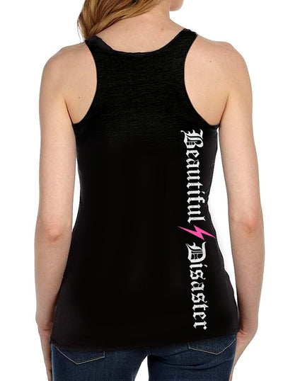 Women's Stronger Racerback Tank by Beautiful Disaster