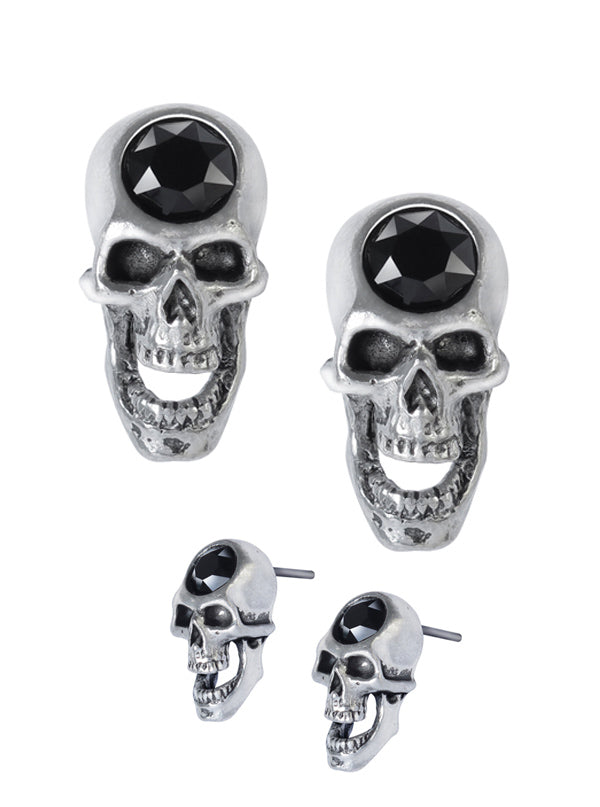 Screaming Skull Studs by Alchemy of England