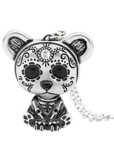 Day of the Dead Skeleton Interchangeable Necklace by Controse