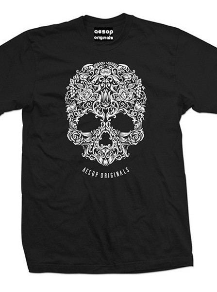 "Men's ""A Skull Named Sugar"" Tee by Aesop Originals (More Options) - www.inkedshop.com"