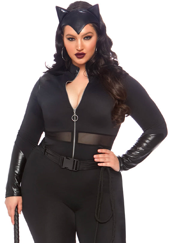 Women's Sultry Supervillain Costume by Leg Avenue (Black)