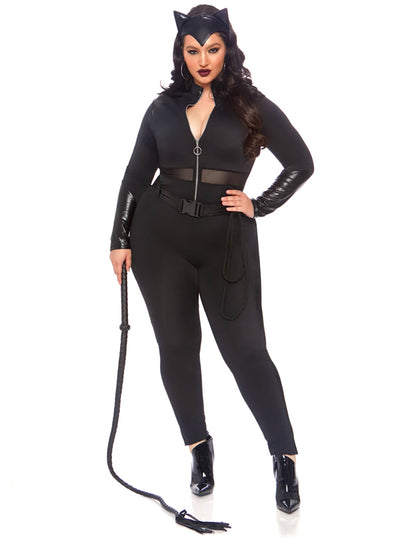Women's Sultry Supervillain Costume by Leg Avenue