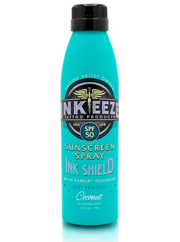 Ink Shield Sunscreen Spray by INK-EEZE
