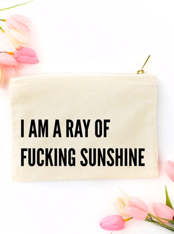 Ray of Sunshine Cosmetic Bag