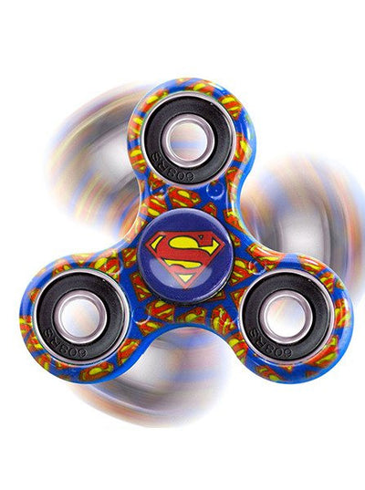 """Superman"" Fidget Spinner (Blue)"