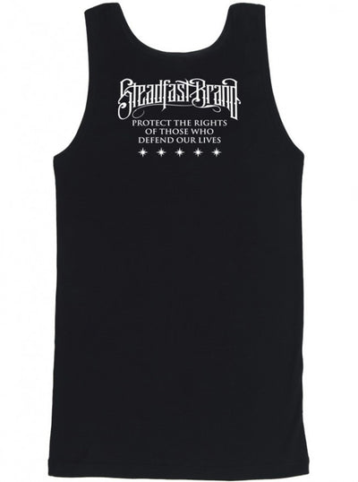 "Men's ""Tattooed Military"" Tank by Steadfast Brand (Black) - InkedShop - 4"