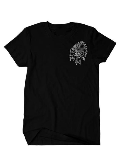 "Men's ""Susi Skull"" Tee by InkAddict (Black)"