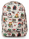 """Star Wars Tattoo Flash"" Backpack by Loungefly (Biege) - www.inkedshop.com"