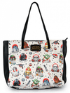 """Star Wars Tattoo Flash"" Tote Bag by Loungefly (Biege) - www.inkedshop.com"
