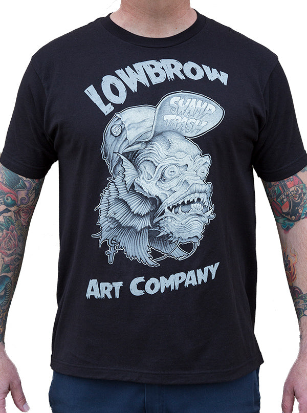 Men's Swamp Trash Tee by Lowbrow Art Company
