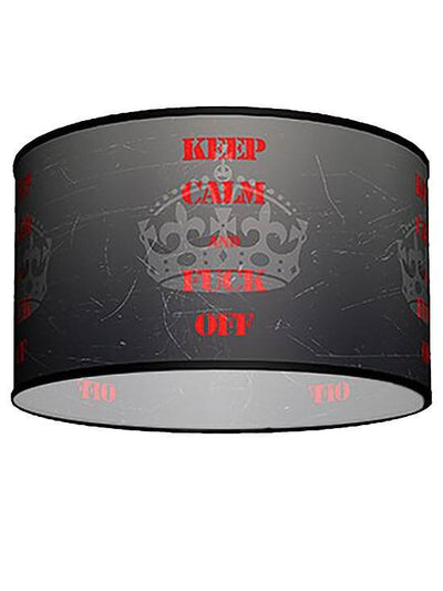 Swag Pendant With Keep Cool Shade by Lamp in A Box - www.inkedshop.com