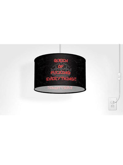 Swag Pendant With Queen Shade by Lamp in A Box - www.inkedshop.com