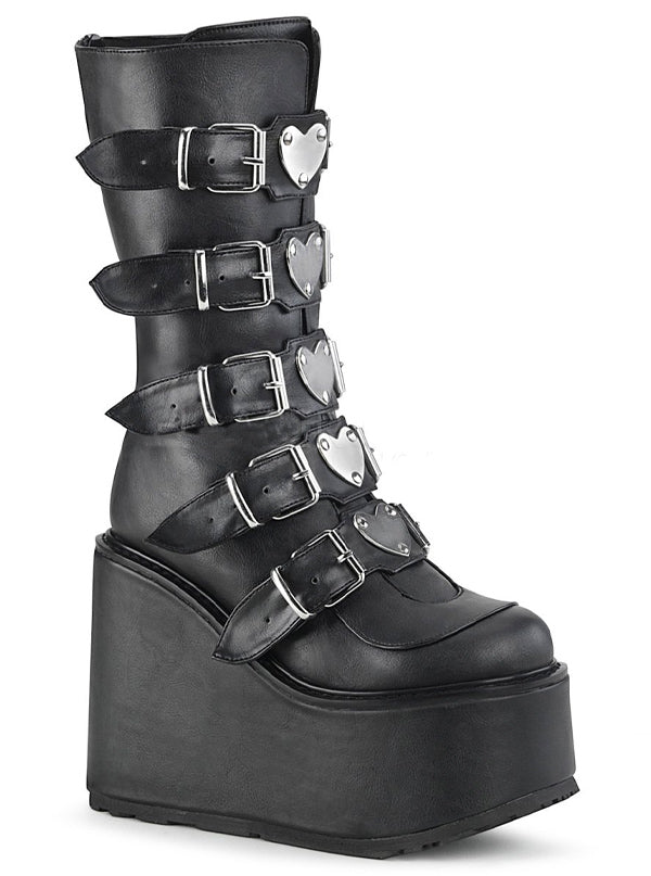 "Women's ""Swing 230"" Platform Boots by Demonia (More Options)"