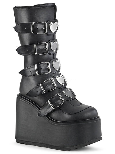 Women's Swing 230 Platform Boots by Demonia