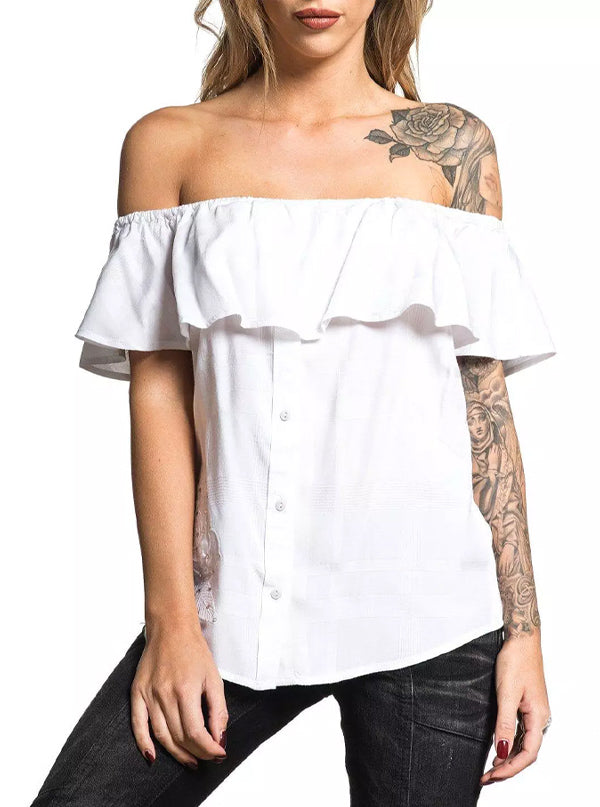 Women's Sydney Off The Shoulder Top by Affliction