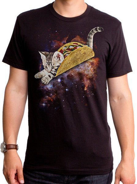 Men's Taco Cat Tee by Goodie Two Sleeves