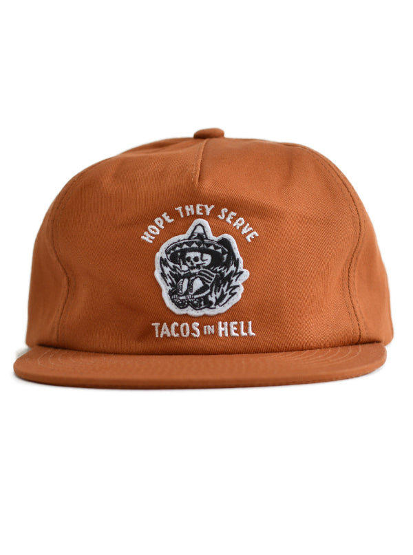 Hope They Serve Tacos in Hell Hat by Pyknic