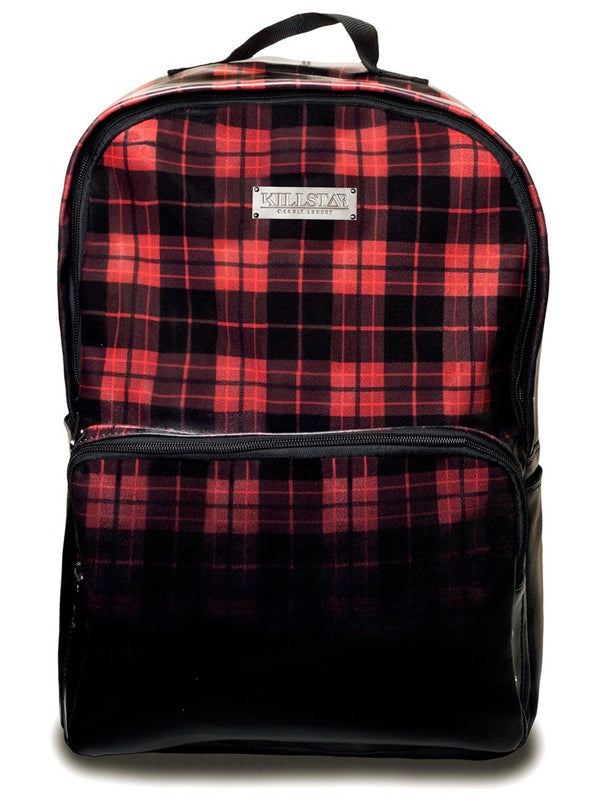 Tartan Backpack by Killstar
