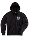 "Men's ""Tat Eagles"" Zip-Up Hoodie by OG Abel (Black) - www.inkedshop.com"