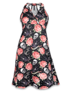 "Women's ""Rose Tattoo"" Marilyn Dress by Liquorbrand (More Options) - www.inkedshop.com"